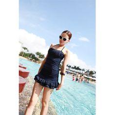 【Lemite】30代40代に大人気の大人可愛い水着★ワンピーススタイル♪