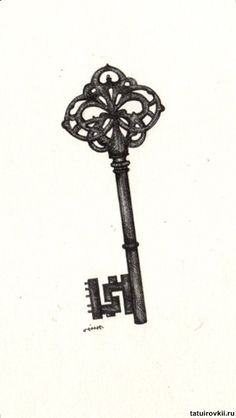 I love old keys. I like to think they unlock a secret, magical door like in the Secret Garden.