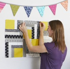 What to Do When Your Quilt Blocks are Different Sizes | AllPeopleQuilt.com