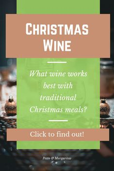 Picking wine for Christmas can often be a bit of an afterthought.  And that's okay.  But if you want to be a little more fussy and pick wine that goes with the food, here are some ideas of what kind of wine to pair with the most popular, traditional Chris Christmas Lunch, Christmas Wine, Christmas Drinks, Christmas Crafts, Best Dinner Recipes, Delicious Recipes, Holiday Recipes, Easy Recipes, Wine Cocktails