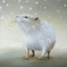 мышка и снег