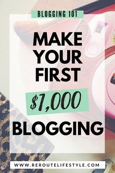 How to Make Money Blogging Online in 2017 | Passive income is REAL. After starting a lifestyle blog, this blogger was determined to make money online. She reports how she made her first $1,000 of extra cash on the blog. If you're interested in blogging tips, becoming an entrepreneur, learning how to blog to make money online... you'll love this article.