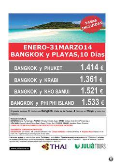 Bangkok y Playas Enero-Marzo Thai Airways desde 1.361€ Tasas Incluidas ultimo minuto - http://zocotours.com/bangkok-y-playas-enero-marzo-thai-airways-desde-1-361e-tasas-incluidas-ultimo-minuto/