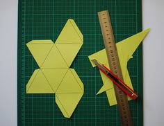 Make a Beautiful Paper Polyhedron Mobile - Tuts+ Crafts & DIY Tutorial