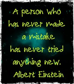 I have some students who need to know that mistakes are such a cooler way to learn things than just memorizing stuff.