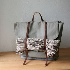 Love this: Handmade Backpack  $162 Infusion on Etsy