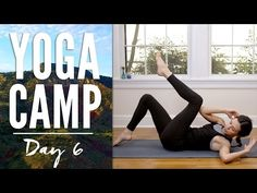 Yoga Camp Day 6 - I Am Supported (Six Pack Abs) - YouTube. Published on Jan 7, 2016Yoga Camp - Day 6! Also, more traditionally known as SIX PACK ABS. But, the Yoga With Adriene version. We target the core in our Yoga Camp practice today.Work the abdominal wall,tone the belly, strengthen the back -in a way that is supported.The mantra today is I Am Supported. Learn to balance all your heart's desires and be true to who you really are! Yes, I think this video can guide you toward all that.