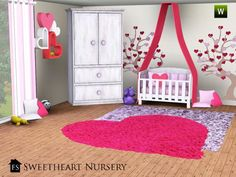 Sweet Heart Nursery by fantasticSims - Sims 3 Downloads CC Caboodle
