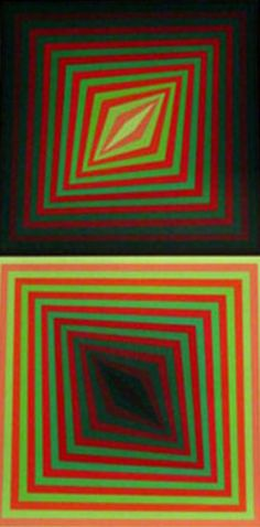 """Limited Edition Print """"Usteok"""" by Victor Vasarely"""