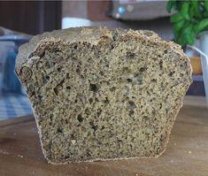 Domowy chleb z mąką konopną
