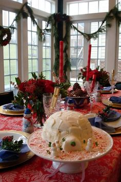 50 stunning christmas table settings - Pinterest Christmas Table Decorations