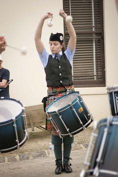University of Ballarat Pipe band, Ballarat, Australia