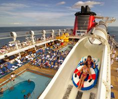 AquaDuck, Disney Dream and Disney Fantasy cruise ships...been there...loved it...can't wait for the next Disney cruise!