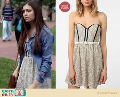Elena's Urban Outfitters dress on The Vampire Diaries is still available (just!) on sale for $39.99. http://wornontv.net/6663
