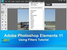 How to use Photoshop Elements 11 Filters - Adobe Photoshop Elements 11 T...