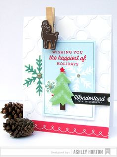 Tree Card @Janet Russell-Snider Crafts