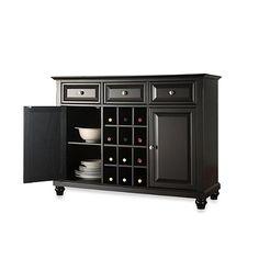 Crosley Cambridge Buffet Server/Sideboard Cabinet - BedBathandBeyond.com