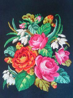 Gallery.ru / Photo # 15 - Flowers on a black canvas - elenasmol