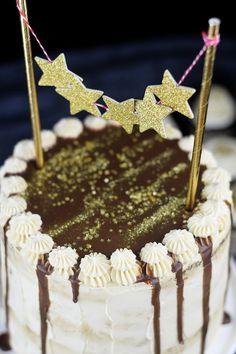 Neujahrstorte - Schoko Kaffee Mokka Torte - Guinnes Cupcakes und Glückskekse mit weisser Schokolade (11)