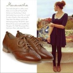 Tan Oxford Loafers 7