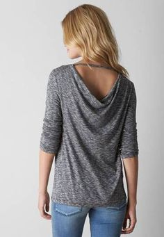 Cowl Back Sweater-would love to have this