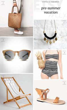 ETSY MIX: Pre-summer vacation | My Paradissi