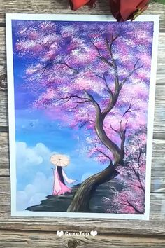 10 Awesome Acrylic Painting For Home Decor – Painting Tutorial Videos Canvas Painting Tutorials, Easy Canvas Painting, Easy Paintings, Canvas Art, Acrylic Art Paintings, Aesthetic Painting, Learn Art, Pictures To Paint, House Painting