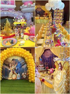 Beauty And The Beast Themed Birthday Party Ideas