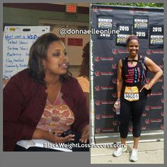 Weight Loss Transformation of the Day: Donna lost 95 pounds, going from a size 24 to a size 12. This dynamic Radio/TV personality has taken her personal triumph and turned it into a movement to help women lose weight and get healthy. Read all about how she lost the weight.