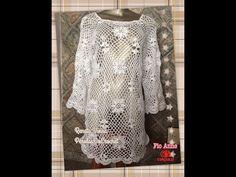 * Pérolas do Crochet: Aprenda a emendar square e montar a sua blusa VIDE...