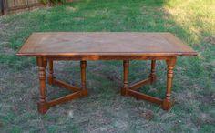 Oak Harvest Table