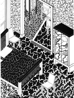 GEORGE J. SOWDEN  INTERIOR DESIGN, 1983  …fabulous! thanks, THNMD!!!