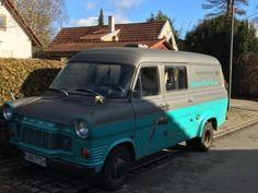 Ford Ford Transit MK1 винтаж 1972 года выпуска V6 как фургон/микроавтобус в Schwabing-Freimann