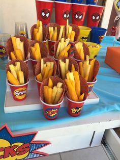 Superheroe snacks