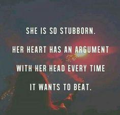 Stubborn pain in the ass.