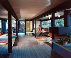 Mirman House, 1959. Architects Buff, Straub and Hensman, Westlake District, Daly City, CA