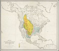 A mournful 1876 map tracks the disappearance of the American Bison, via Slate