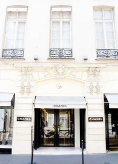 Travel Must-Visit: The very first Chanel store, 31 Rue Cambon in Paris