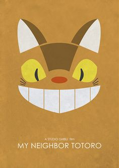 Catbus from My Neighbor Totoro Alternative Movie by GlanPrints