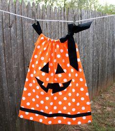 pillow case dress- halloween