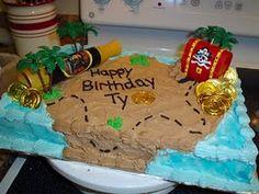 Cute pirate theme cake!