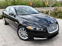 2013 Jaguar XF fuses sports car styling & performance with the refinement, features & space of a luxury sedan. #cars