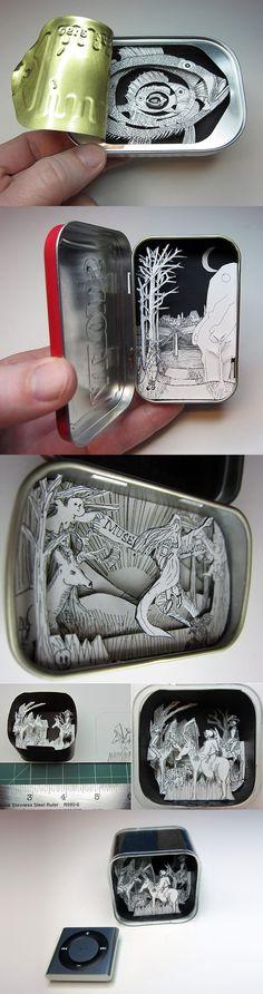 shadow box tins