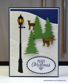 Hello, Crafters. The lamppost on today's card reminds of the lampposts that were on the street where my grandmother used to live! It's ...