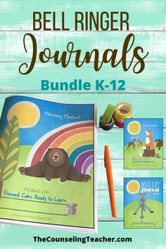 These journals include prompts for the entire year to promote growth mindset, mindfulness, self-reflection, gratitude and kindness. Help students become their best self. Elementary School Counseling, School Counselor, School Teacher, Elementary Schools, Growth Mindset Activities, My Favourite Teacher, Classroom Behavior Management, Bell Ringers, Life Journal