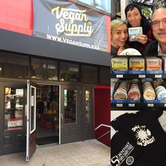 Hanging out with Vegan Supply Vancouver