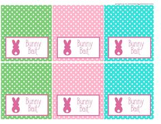 bloom designs: Free Bunny Bait Tags