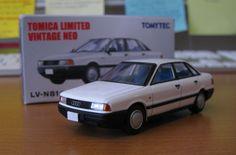 Tomica Limited Vintage Neo 1/64 Audi 80 2.0E (LV-N81 White color) | eBay