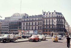 Place de la Bourse, 1970.