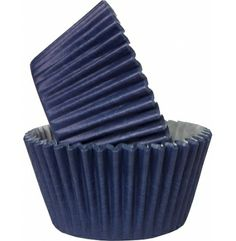 Navy Blue Cupcake Or Muffin Cases Cake Baking Supplies, Cake Decorating Supplies, Navy Cupcakes, Birthday Cupcakes, Matt And Blue, Wedding Events, Wedding Ideas, Weddings, Cupcake Cases